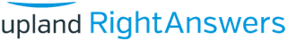 Upland RightAnswers logo