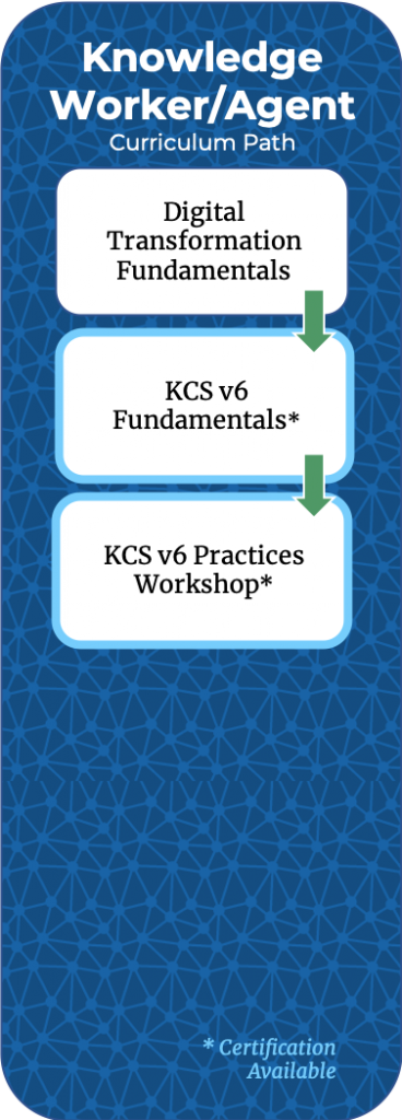 Knowledge Worker Curriculum Path
